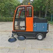 定制小型電動全封閉式駕駛室式路面清掃車