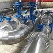 高温玻璃棉管道保温工程机房锅炉房铁皮保温